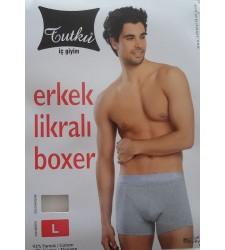 TUTKU ERKEK LİKRALI BOXER