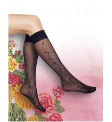 Kaliteli Desenli Diz Altı Çorap