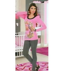 Uzun Kollu Bayan Pijama Takımı