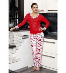 Bayan Modal Pijama Kalpli