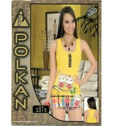 Polkan Bayan Şortlu Takım